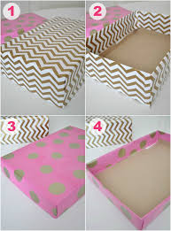 wrapping boxes uheart organizing creatively colorful office styling pretty box