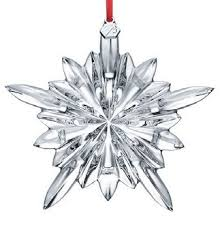 baccarat 2804659 2013 courchevel snowflake ornament