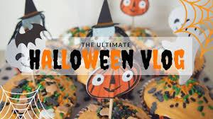 ultimate halloween vlog halloween recipes costumes hauls and
