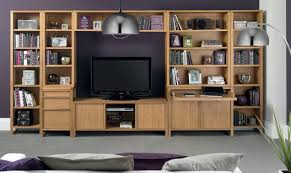 living room area with product type entertainment units