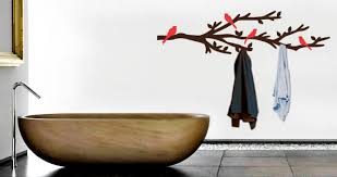 branch coat rack wall decal dezign with a z