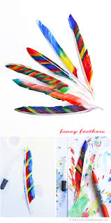 thanksgiving crafts for kids fancy feathers babble dabble do