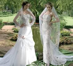 outdoor wedding dresses a simple model for garden wedding dresses