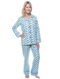 noble mount boat womens 100 cotton flannel pajama sleepwear