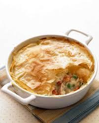 Fish Pot Pie by Lighter Comfort Food Martha Stewart