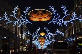 christmas lights in london where to see them