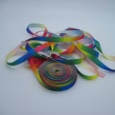 chagne satin ribbon wholesale gradual change colors satin ribbon for gift buy