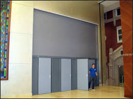 Automatic Fire Curtain Mckeon Door Specified Building Products Corporation