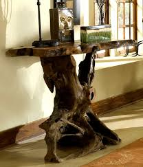 unique rustic home decor living room incredible rustic tree roots stand table furniture