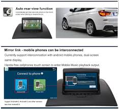 amazon com rupse for 2004 2010 bmw x3 car multimedia navigation