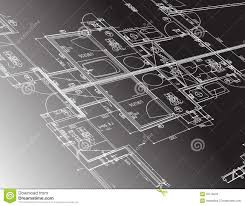 Free Architectural Design by Architecture Plan Guide Illustration Design Royalty Free Stock