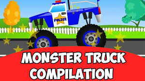 kids monster truck videos monster truck compilation kids videos baby video youtube