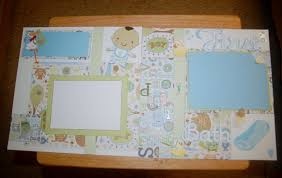baby boy scrapbook album my spot baby boy scrapbook album