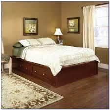 furniture home wooden platform bed storage platform bed with