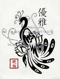 beautiful myth of phoenix tribal tattoos tattoomagz