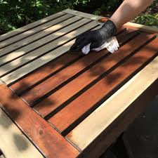 Ikea Patio Table by Refinishing Ikea Wooden Outdoor Patio Furniture Diy Montreal