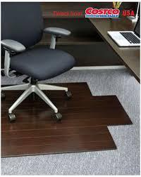 Chair Mat For Laminate Floor Ihome Anji Mountain Bamboo Chair Mat