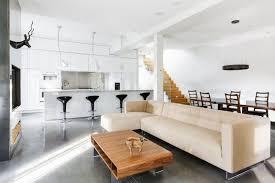 canap sol photo salon cuisine ouverte 1 salle manger sol b c3 a9ton cir a9