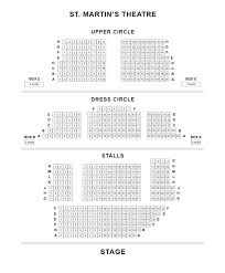 st martin u0027s theatre seating plan londontheatre co uk