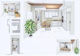 cuisine en perspective perspectives esquisses réalisations décoration d intérieur
