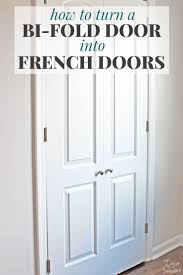 How To Frame A Door Opening Best 25 Closet Door Makeover Ideas On Pinterest Door Makeover