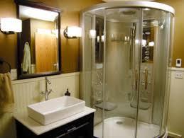 Guest Bathroom Shower Ideas Perfect Kb Joe Marshall Guest Bathroom Blue Jpg Rend Hgtvcom Has