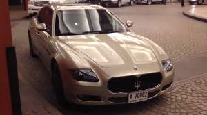 maserati quattroporte black rims golden beige maserati quattroporte with black rims youtube