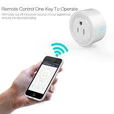 smartphone controlled outlet 220v smart home wifi smart socket smartphone us plug switch outlet