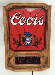 vintage lighted beer signs vintage miller lighted beer sign in collectible coors signs and tins