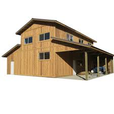 30 X 40 Garage Plans by 44 Ft X 40 Ft X 18 Ft Wood Garage Kit Without Floor Project