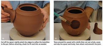 How To Make Clay Vases By Hand How To Make A Clay Teapot With An Infuser For Loose Leaf Teas