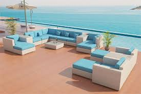 White Patio Furniture Set Sofa Outdoor Patio Furniture Set 25