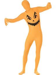 halloween morph costumes pumpkin second skin costume 24614 fancy dress ball
