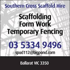 southern cross scaffold hire scaffolding ballarat