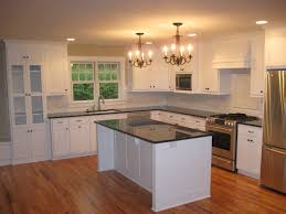 Island Kitchen Counter Mdf Prestige Shaker Door Merapi Wood Top Kitchen Island Backsplash