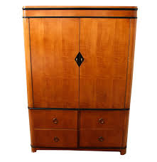 Tv Armoire National Mt Airy Biedermeier Style Tv Armoire Ebth