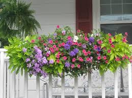 planter box flower arrangements garden ideas