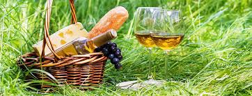 Wine Picnic Basket Summer Romance Classic Wine And Cheese Picnic Date