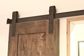 interior sliding doors home depot barn door kite tuscan ii stained hardwood interior barn and a