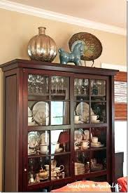 how to decorate your china cabinet china cabinet decor motauto club