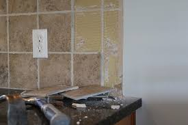 removing kitchen tile backsplash breathtaking how to remove tile backsplash 80 for your home decor