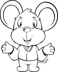 cartoon animal coloring pages kids coloring free kids coloring