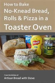 Toaster Oven Bread Cookbooks No Knead Bread Central