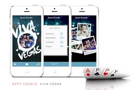 wedding apps get a stylish custom wedding app and website for your vegas