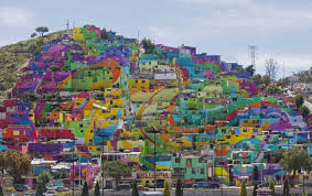 What Is A Mural by Working Class Barrio Turns Into Huge Rainbow Mural In Mexico Kutv