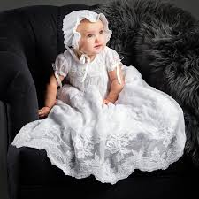 louisa white christening gown cotton baptism u0026 dresses