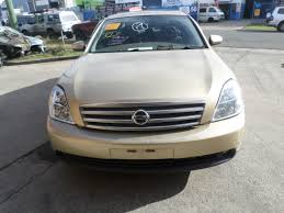 wrecking parts nissan maxima ti j31 2005 sunroof leather vq35