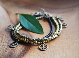 stacking bracelets peace out peace bracelets stacking bracelets beaded bracelets