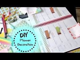 diy planner decoration organization for back to school