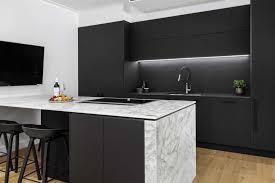 white kitchen cupboards black bench kitchen ideas image gallery premier kitchens australia